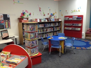 One of the children's librarians from another MLS branch was responsible for setting this up as there is no dedicated Children's Librarian at the City branch.