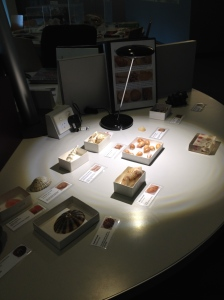 This is an example of what a typical artefact station looks like.