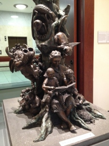 So many of my favourite characters in this sculpture! (Grandma Poss and Hush in particular!)