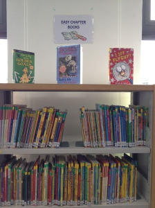 The shelves are too tall for the young kids but they have a good collection of fiction resources. As the school uses a British curriculum, there is a heavy emphasis on British writers.